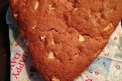 Apfel - Zimt - Nuss - Kuchen (Bild)