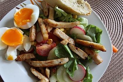 Bunter Salat mit Putenstreifen 6