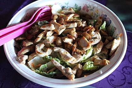 Bunter Salat mit Putenstreifen 16