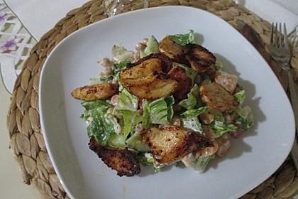 Bunter Salat mit Putenstreifen 8