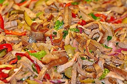 Bunter Salat mit Putenstreifen 13