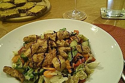 Bunter Salat mit Putenstreifen 12