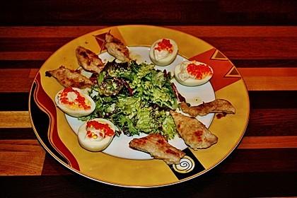 Bunter Salat mit Putenstreifen 11