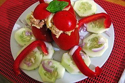 Gefüllte Tomaten mit Thunfisch 3