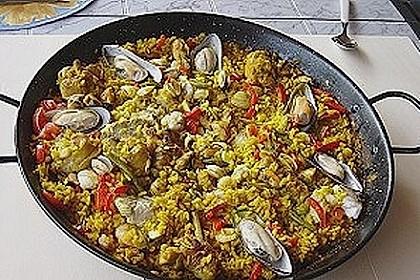 Paella nach Art von Valencia 9