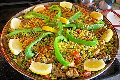 Paella nach Art von Valencia 1