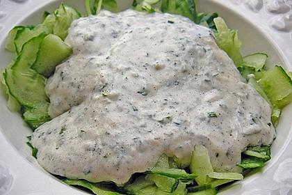 Gurkensalat mit Joghurt 13