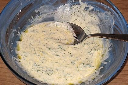 Gurkensalat mit Joghurt 24