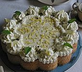 Zitronen - Sekt - Torte (Bild)