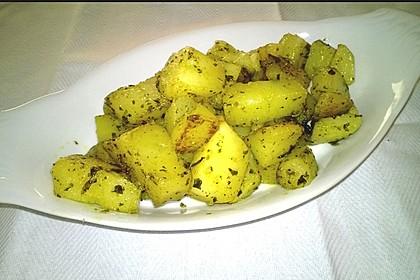 Kräuterbutter - Kartoffeln 2