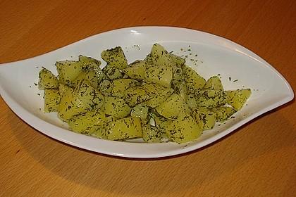 Kräuterbutter - Kartoffeln 6