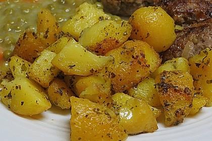Kräuterbutter - Kartoffeln 1