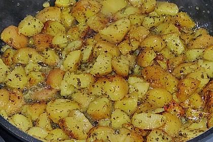 Kräuterbutter - Kartoffeln 5