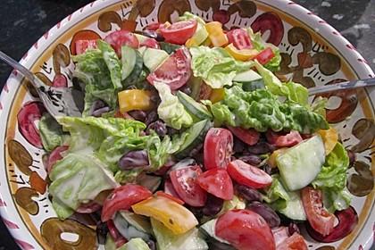 Joghurt - Honig - Senf Salatdressing 5