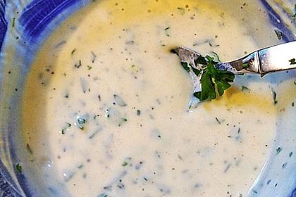 Joghurt - Honig - Senf Salatdressing 18