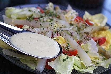 Joghurt - Honig - Senf Salatdressing