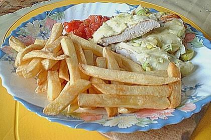Putenschnitzel mit Mozarella 10