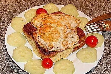 Gebackener Toast