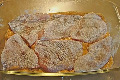 Gorgonzola-Schnitzel 77