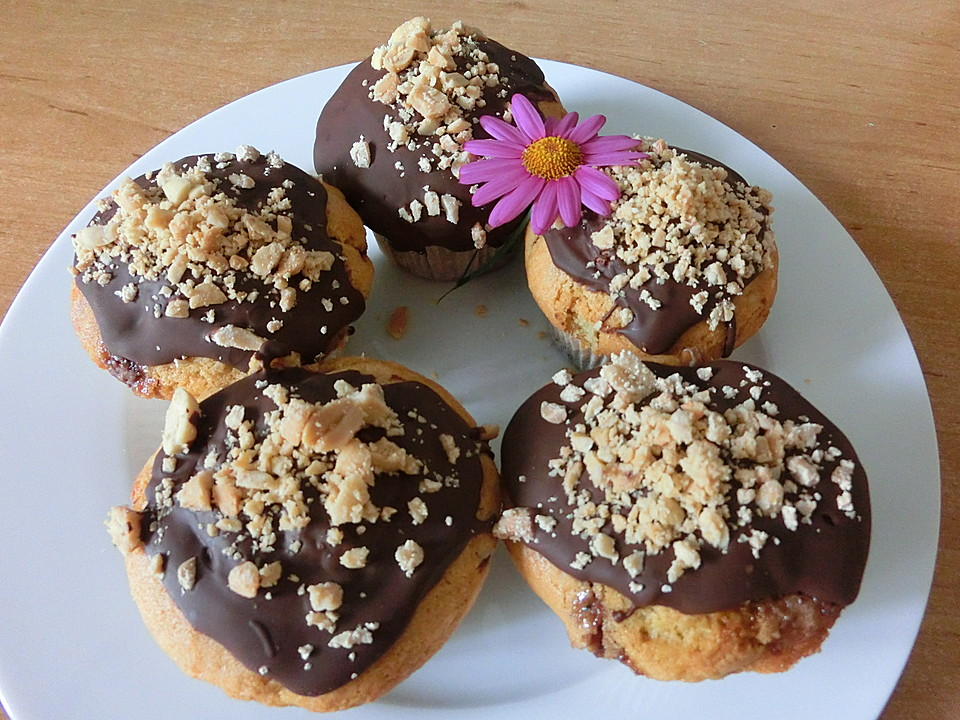 Snickers Muffins Von Lunakatz Chefkoch De