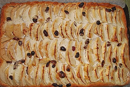Schwedischer Apfelkuchen (Bild)