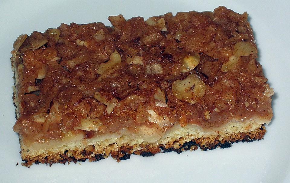 Apfel Nuss Kuchen Auf Dem Blech Von Lilliane Chefkoch De