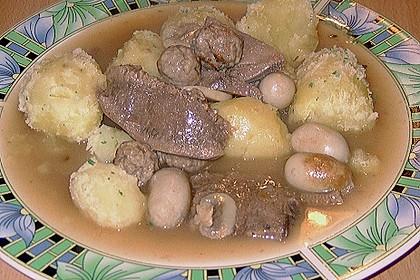 Rinderzunge mit Champignon - Madeirasoße 5