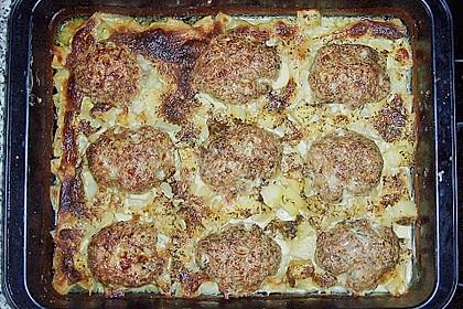 Hackbraten im Kartoffelbett 18