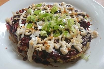 Okonomiyaki (Bild)