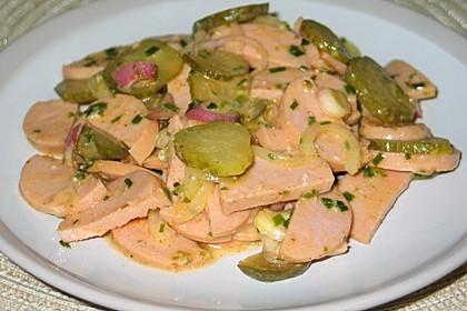 Pikanter Wurstsalat (Bild)