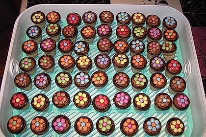 Kleine Kuchen Im Waffelbecher Von Minerva Chefkoch De
