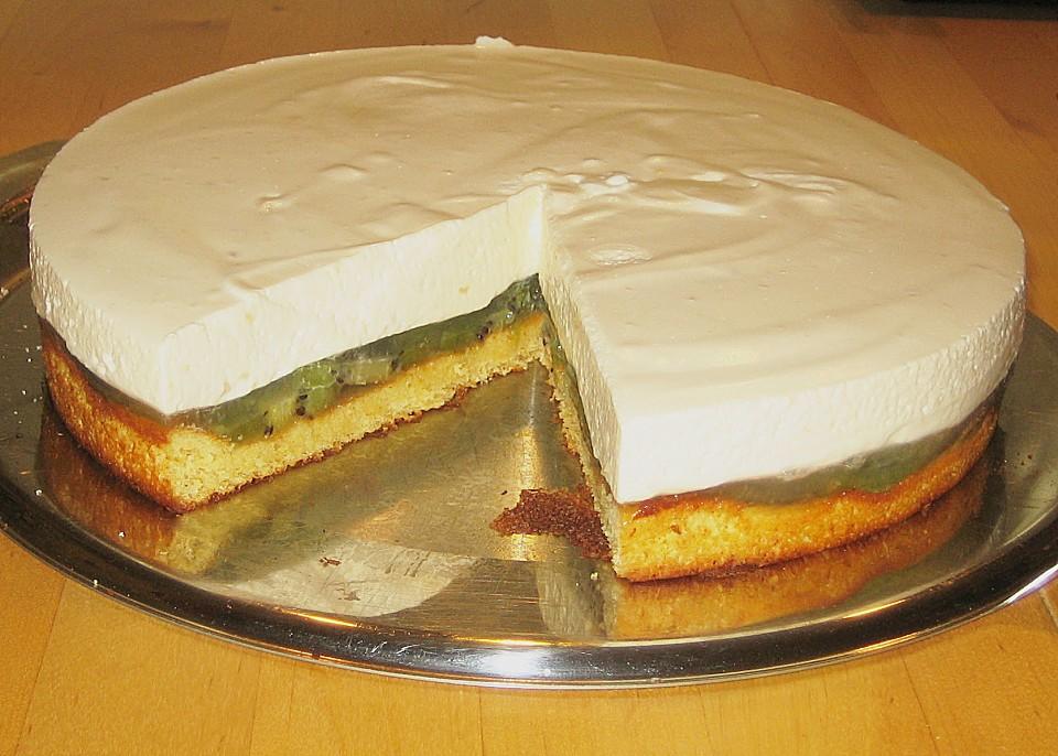 Kiwi Quarkcreme Torte Von Susannemsb Chefkoch De