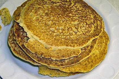 Brotfladen oder Pfannkuchen