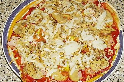 Binchens leichte Pfannenpizza 17