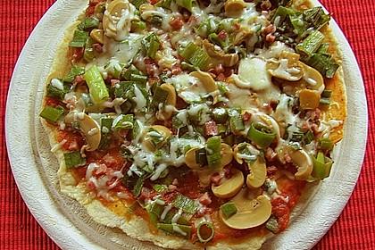 Binchens leichte Pfannenpizza 5