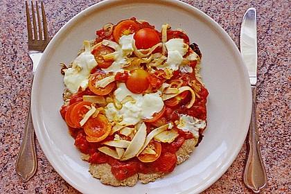 Binchens leichte Pfannenpizza 7