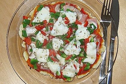 Binchens leichte Pfannenpizza 6