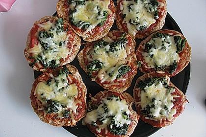 Binchens leichte Pfannenpizza 9