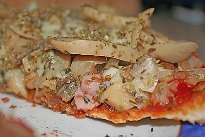 Binchens leichte Pfannenpizza 8