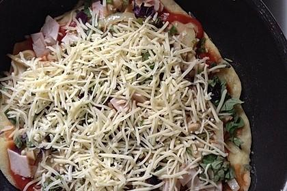 Binchens leichte Pfannenpizza 18