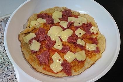 Binchens leichte Pfannenpizza 10