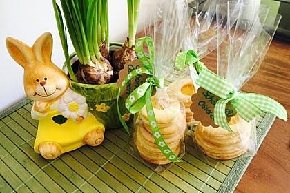 Zitronige Ostereier - Kekse 10