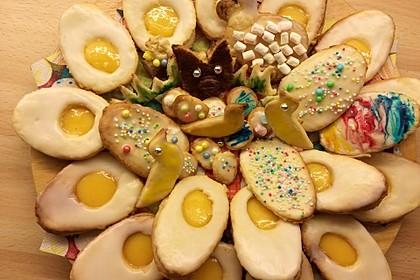 Zitronige Ostereier - Kekse 46