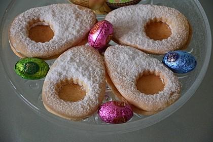 Zitronige Ostereier - Kekse 34