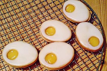 Zitronige Ostereier - Kekse 7
