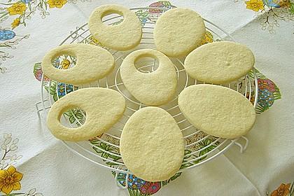 Zitronige Ostereier - Kekse 20