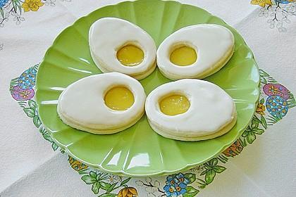 Zitronige Ostereier - Kekse 2