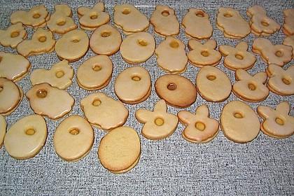Zitronige Ostereier - Kekse 52