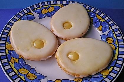 Zitronige Ostereier - Kekse 28