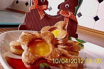 Zitronige Ostereier - Kekse 67